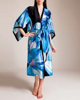 Josie Natori Luminous Lotus Long Kimono