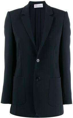 RED Valentino classic slim fit blazer