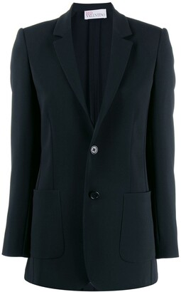 RED Valentino Slim-Fit Blazer Jacket