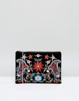 Pieces Jessica Embroidered Cross Body Bag