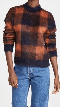 Acne Studios Kanya Check Sweater