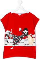 Little Marc Jacobs printed T-shirt - kids - Cotton/Modal - 14 yrs