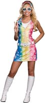 Dreamgirl Sassy Polly Ester Retro 60's 70's Peace Sign Junior Dress Costume