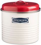 Typhoon Vintage Belmont Large Storage Canister in Cream/Red