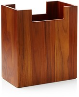 Hudson Park Teak Waste Basket - 100% Exclusive