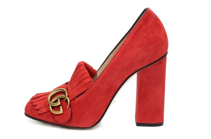 2a5c0d920 Gucci Red Heels - ShopStyle