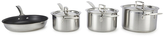 Le Creuset 3-Ply Stainless Steel Non-Stick 4 Piece Cookware Set