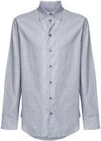 Armani Collezioni textured shirt