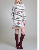 Vivienne Tam Parasol Flower Shift Dress.