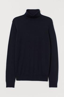 H&M Wool-blend Turtleneck Sweater