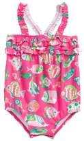 Hatley Fish One-Piece Swimsuit