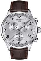 Tissot T-Sport Chronograph Leather Strap Watch, 45mm