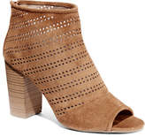 New York & Co. Perforated Open-Toe Bootie