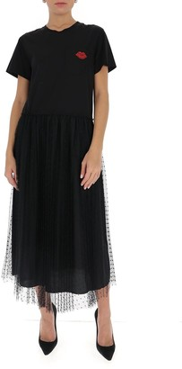 RED Valentino Tulle T-Shirt Dress