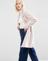Asos Textured Coat in Relaxed Fit