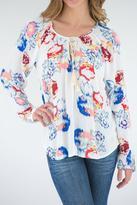 Love Stitch Floral Top