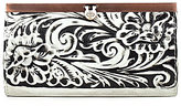 Patricia Nash Vintage White Washed Collection Cauchy Wallet