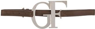 Gianfranco Ferré Pre-Owned 2000s Logo Plaque Belt