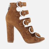 KENDALL + KYLIE Women's Evie Suede Strappy Heeled Sandals