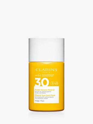 Clarins Mineral Sun Care Fluid Face SPF 30, 30ml