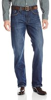 Stetson Apparel Mens Medium Wash X Pocket Boot Cut Jeans