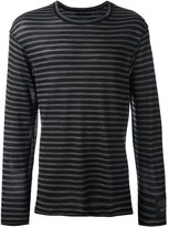 Yohji Yamamoto fine stripe jumper