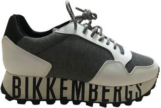 Dirk Bikkembergs \N White Leather Trainers