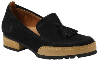 L'Amour des Pieds Leather Tassle Heel Loafers -Finiey