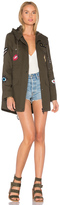 Jocelyn Cargo Coat With Exclusive Patches
