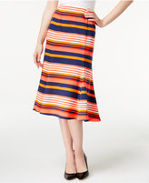 NY Collection A-Line Midi Skirt