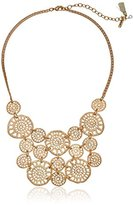 "lonna & lilly Classics"" Gold-Tone Filigree Frontal Necklace, 16.5"" + 2.5"" Extender"
