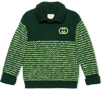 Gucci Kids Interlocking G mouline jumper