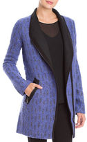 Nic+Zoe Alpaca and Wool Blend Tapestry Coat
