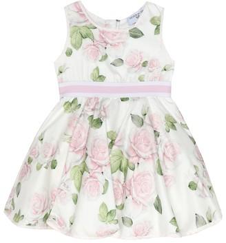 MonnaLisa Baby floral cotton dress