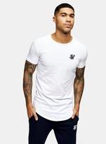 SikSilk White Gym T-Shirt