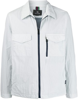 Paul Smith Flapped-Pocket Shirt Jacket