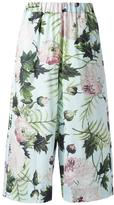 Antonio Marras botanical print trousers - women - Cotton - 1