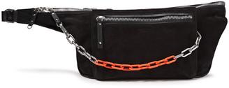 Rag & Bone Elliot Large Leather And Suede Belt Bag