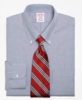 Brooks Brothers Madison Fit Stripe Dress Shirt
