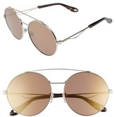 Givenchy Women's 62Mm Oversize Round Sunglasses - Light Gold