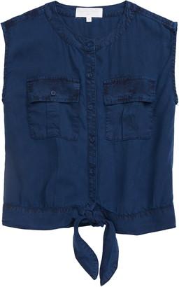Bella Dahl Utility Pocket Tie Front Shirt