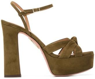 Aquazzura Baba platform sandals