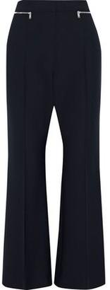 Sonia Rykiel Zip-embellished Stretch-twill Flared Pants