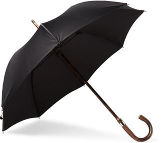Kingsman + London Undercover Chestnut Wood-Handle Umbrella