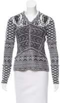 Altuzarra Patterned Long Sleeve Sweater