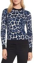 MICHAEL Michael Kors Women's Cheetah Print Sweater
