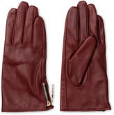 Whistles Zip Side Leather Glove