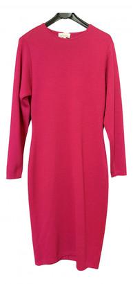 Gianfranco Ferre Pink Wool Dresses