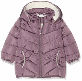 Name It Baby Girls' Nbfmus Puffer Jacket Camp