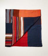 LOFT Colorblock Stripe Scarf